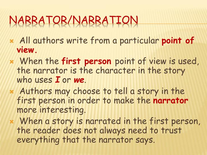 All authors write from a particular