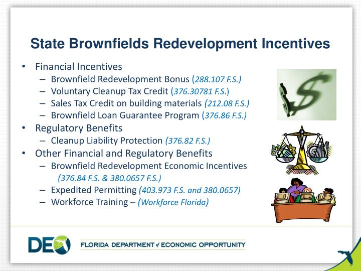 State Brownfields Redevelopment Incentives