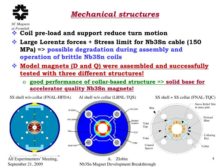 Mechanical structures