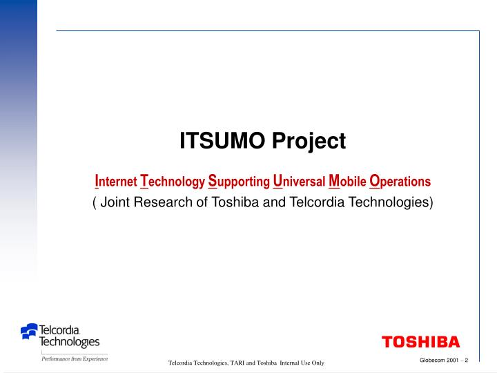 ITSUMO Project