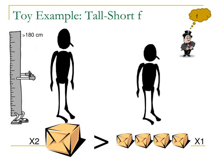 Toy Example: Tall-Short f