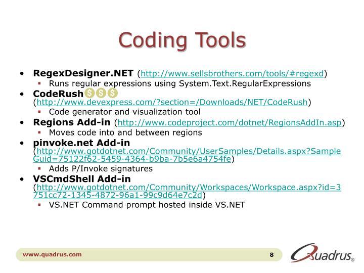 Coding Tools
