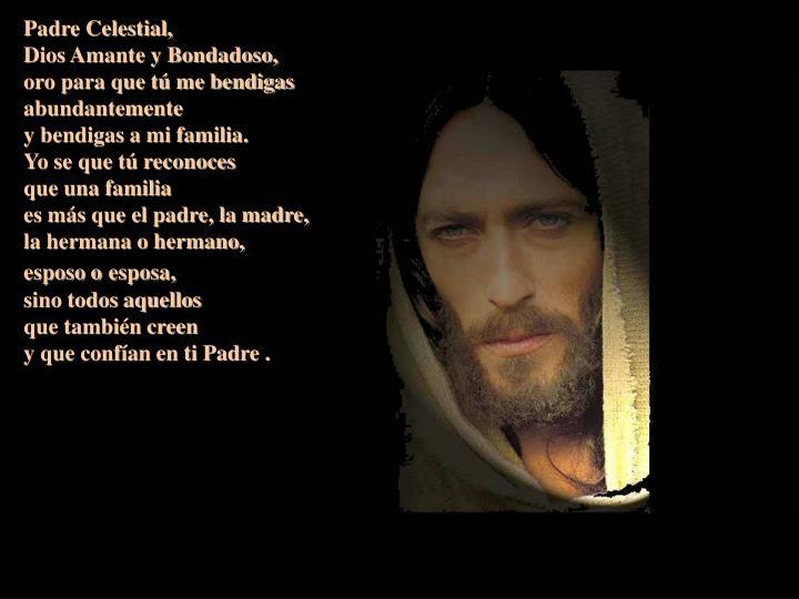 Padre Celestial,