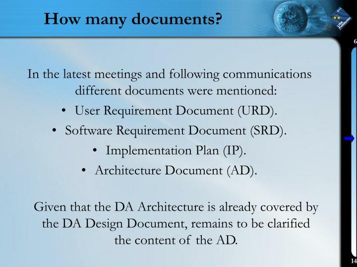 How many documents?
