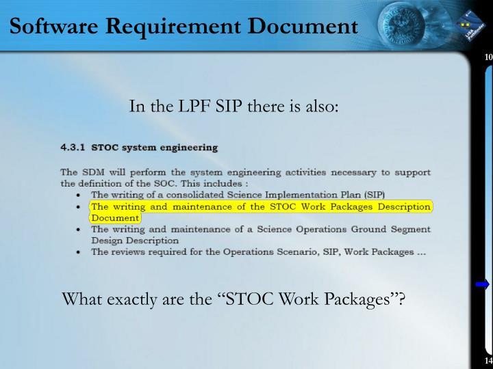 Software Requirement Document