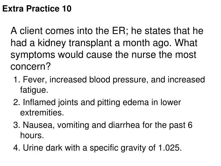Extra Practice 10