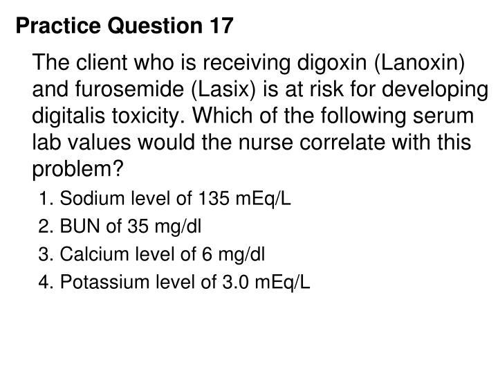 Practice Question 17