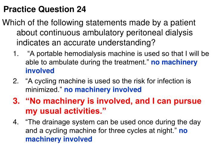 Practice Question 24