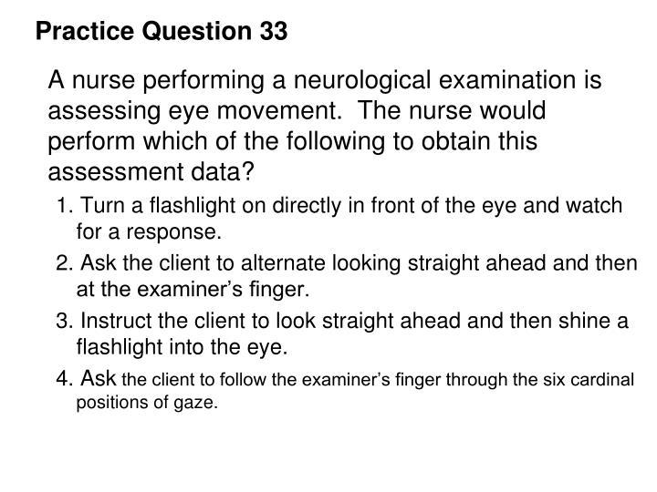 Practice Question 33