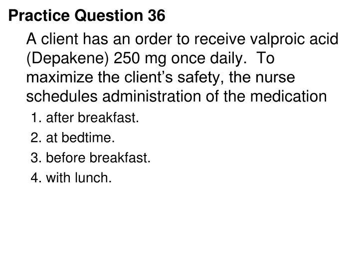 Practice Question 36
