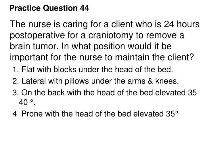 Practice Question 44