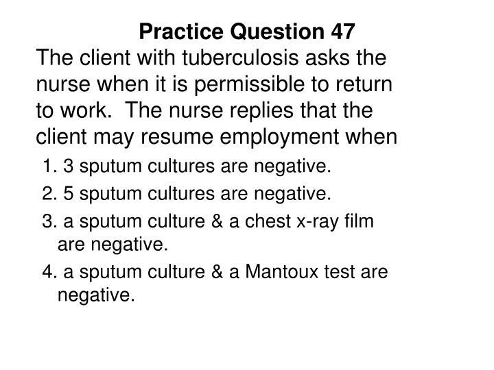 Practice Question 47