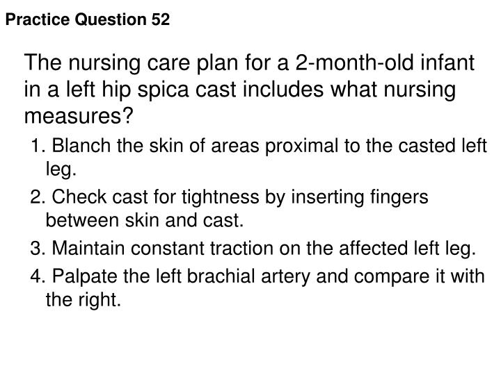 Practice Question 52