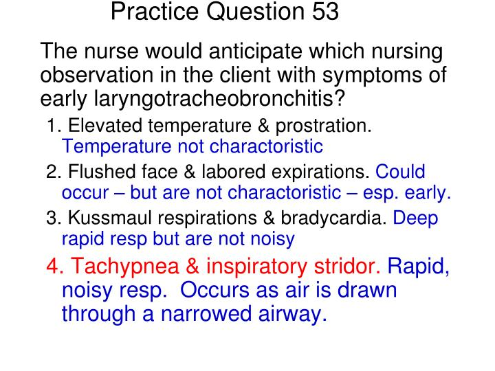 Practice Question 53