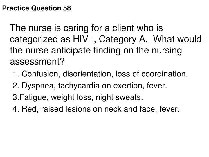 Practice Question 58