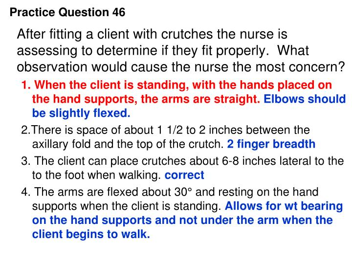 Practice Question 46