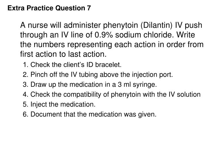 Extra Practice Question 7
