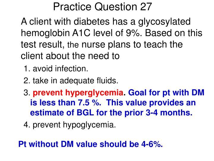 Practice Question 27