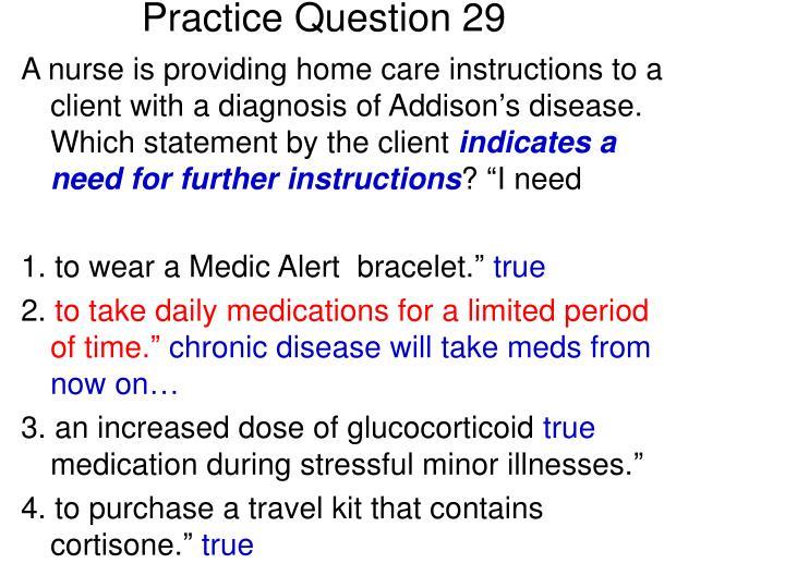 Practice Question 29