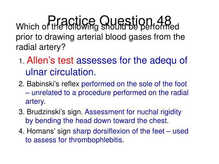Practice Question 48