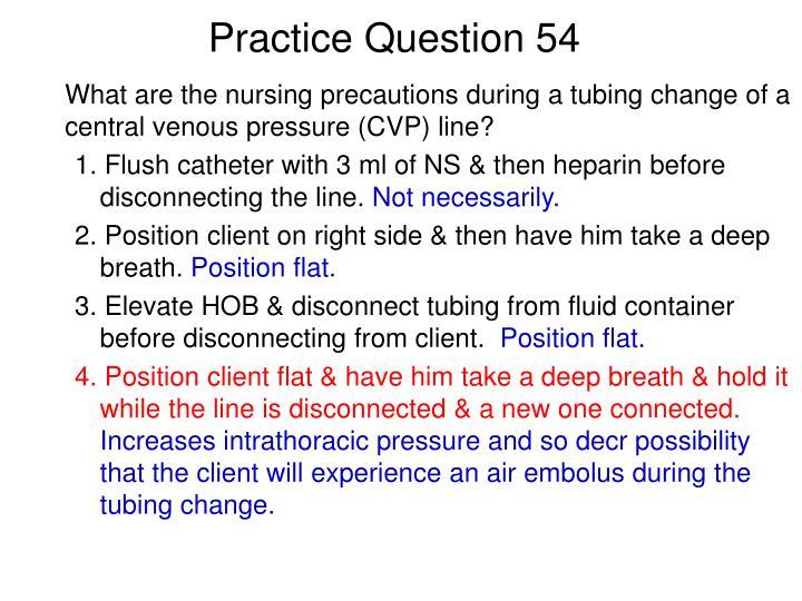Practice Question 54