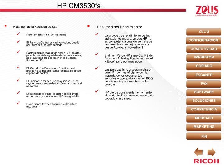 HP CM3530fs