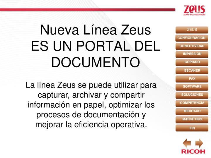 Nueva Línea Zeus