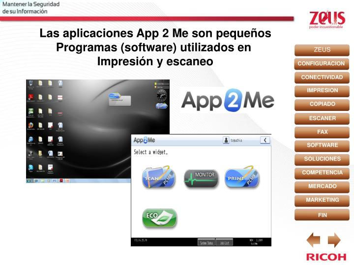 Las aplicaciones