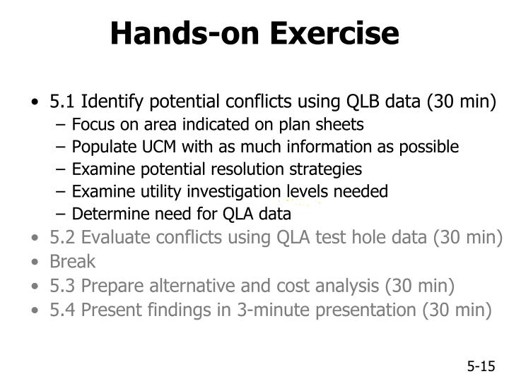 Hands-on Exercise