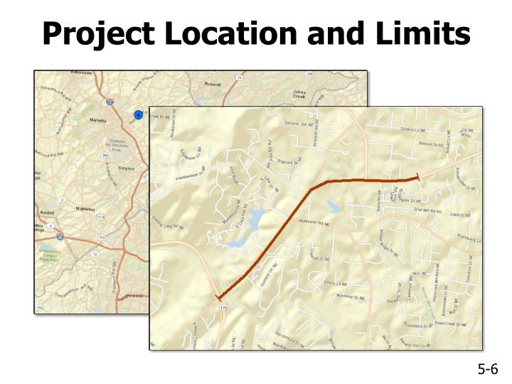 Project Location and Limits
