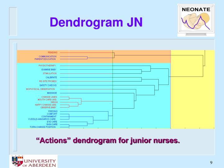 Dendrogram JN