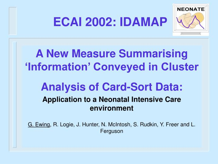 A New Measure Summarising 'Information' Conveyed in Cluster Analysis of Card-Sort Data: