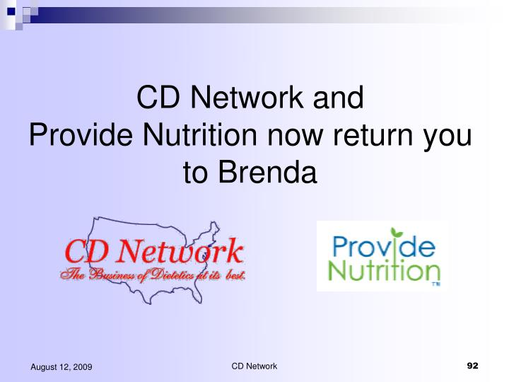 CD Network and