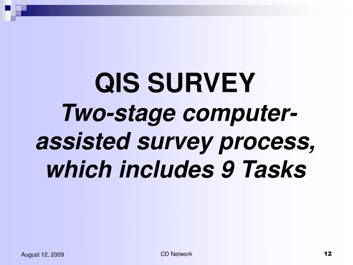 QIS SURVEY