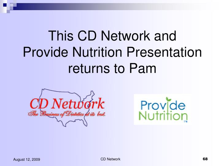 This CD Network and