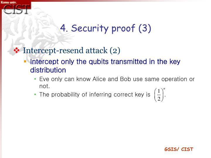 4. Security proof (3)