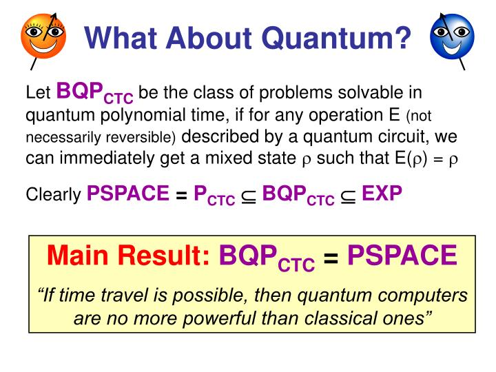What About Quantum?