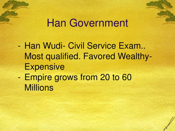 Han Government