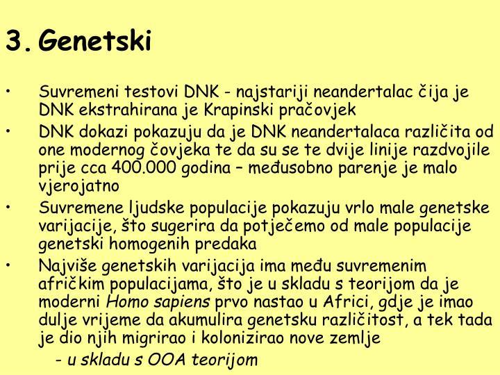 Genetski