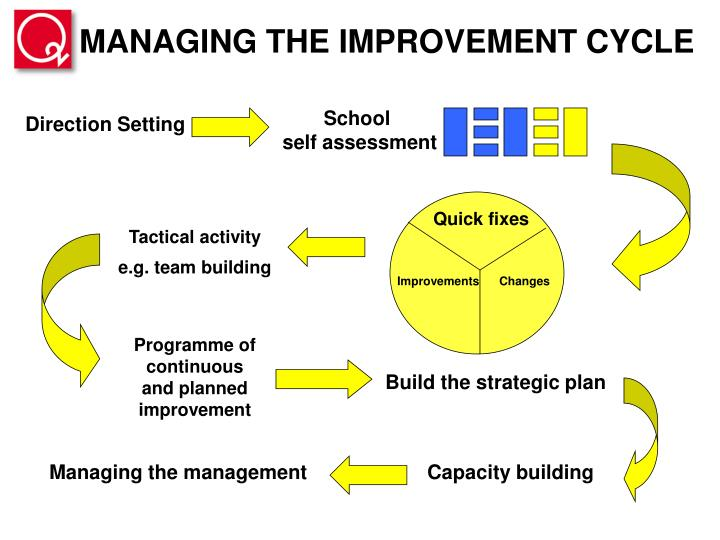 MANAGING THE IMPROVEMENT CYCLE