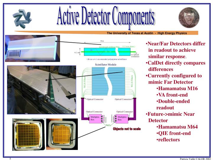 Active Detector Components