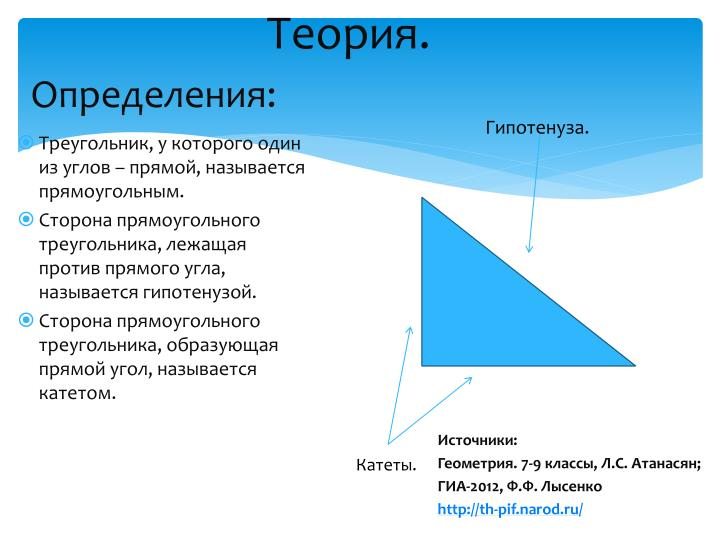 Теория.
