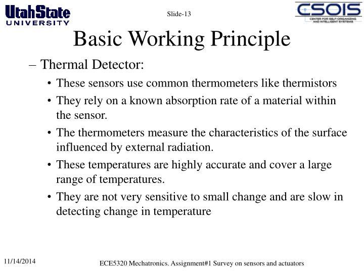 Basic Working Principle