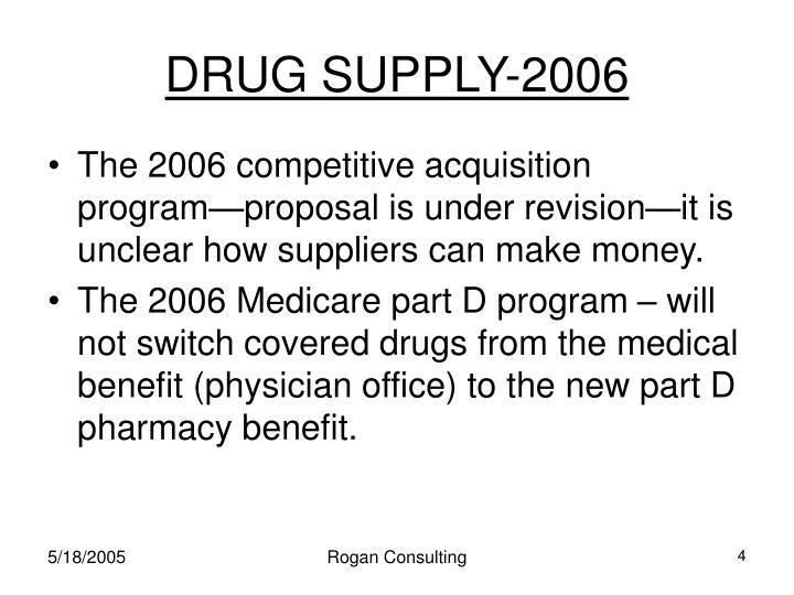 DRUG SUPPLY-2006