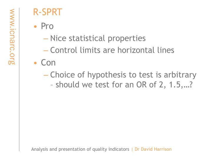 R-SPRT