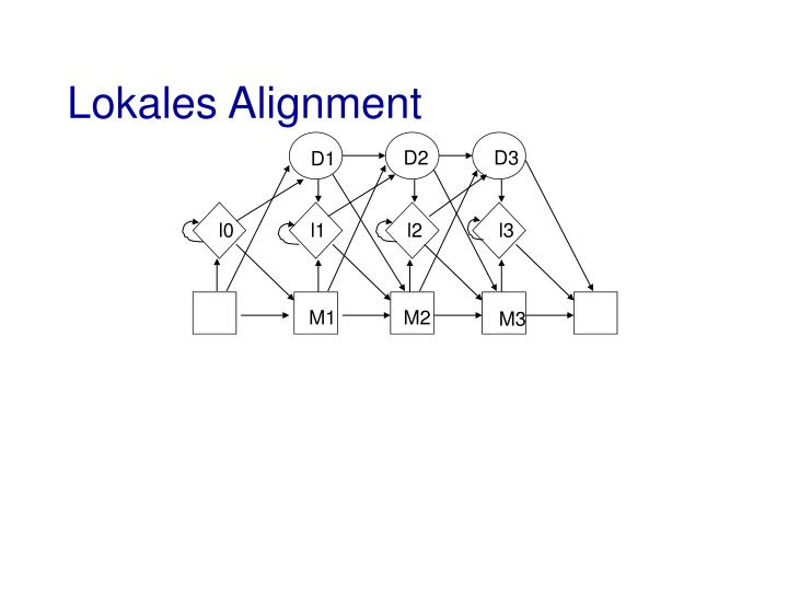 Lokales Alignment