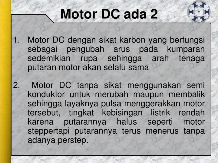 Motor DC ada 2