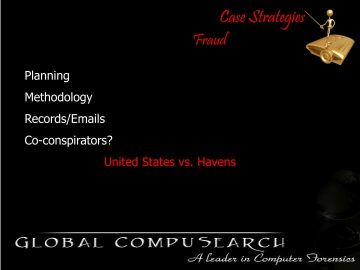 Case Strategies
