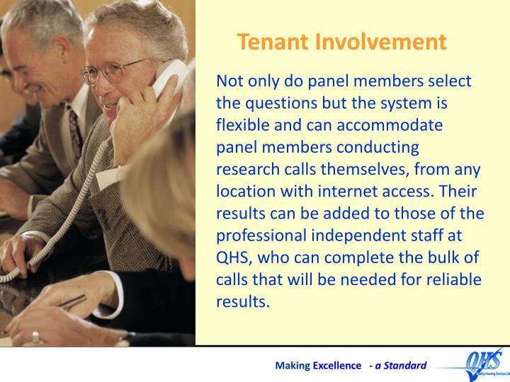 Tenant Involvement