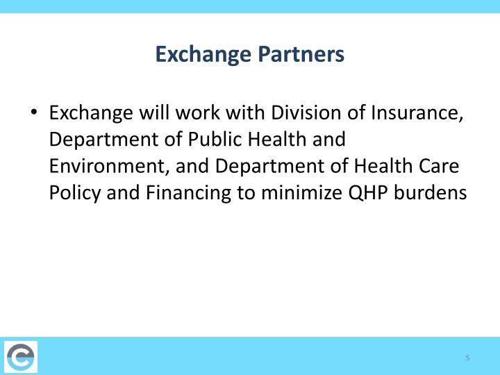 Exchange Partners